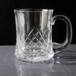 Crystal Tankard Personalised, Small Waisted ref CHT2